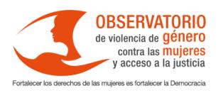 Logo observatorio de violencia de género